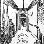 dining room of richardson spite house